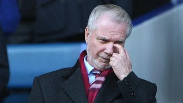 West Ham United co-owner David Gold