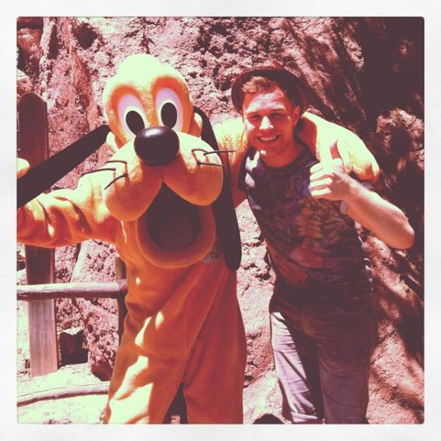 Celebrity quotes: Olly Murs is currently in America supporting One Direction on tour. In between performances, he found some time to make a trip to Disneyland where he hung out with some of the charac