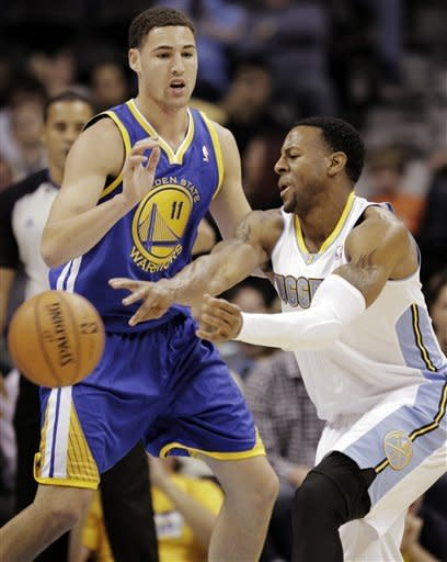 Gallinari's 18 lead Nuggets past Warriors, 104-98