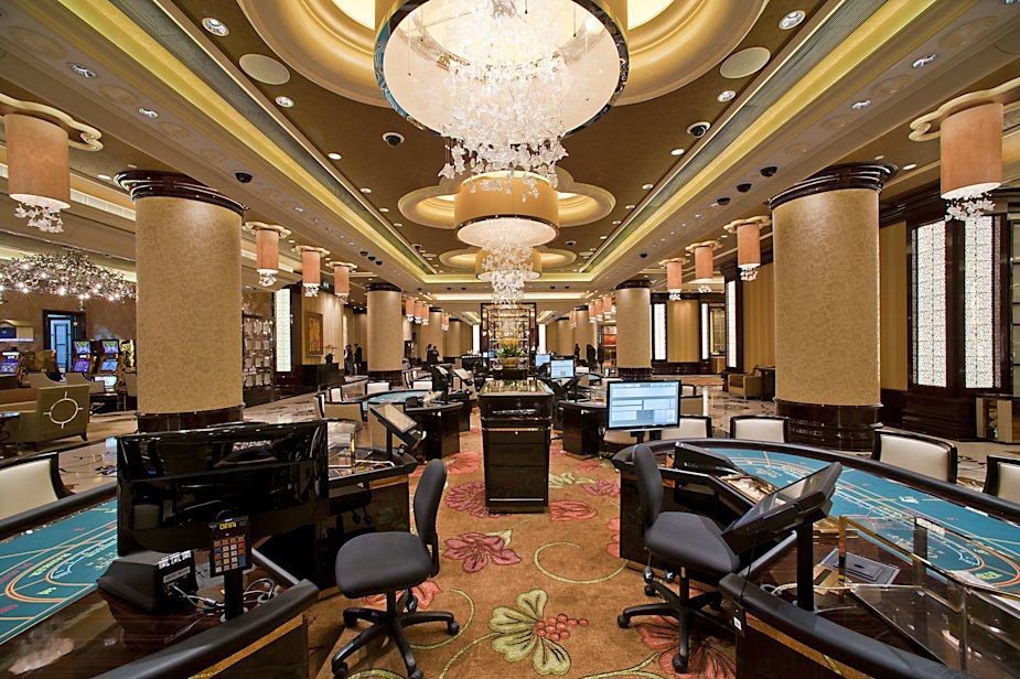 Galaxy Casino Sky 32 VIP lounge in Macau