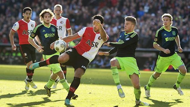 Live football streaming: Watch Ajax v Feyenoord (De Klassieker) in the Eredivisie