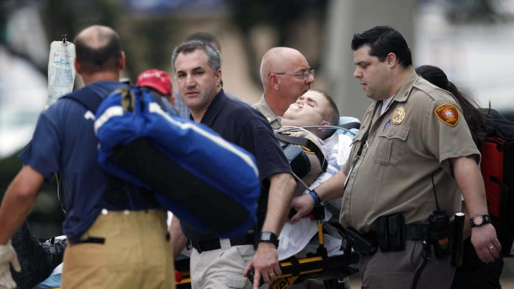 After being shot at the county courthouse wednesday march 7 2012