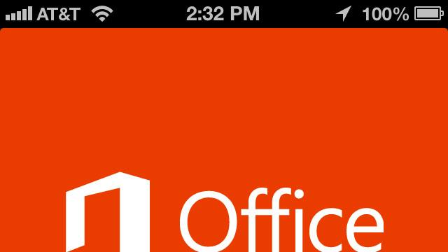 Microsoft brings Office to iPhone, but not tablets
