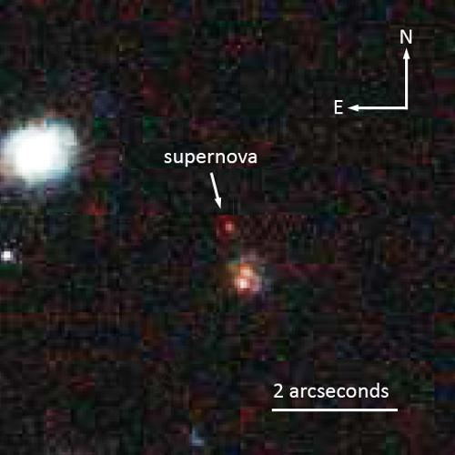 Most Distant 'Standard Candle' Star Explosion Found