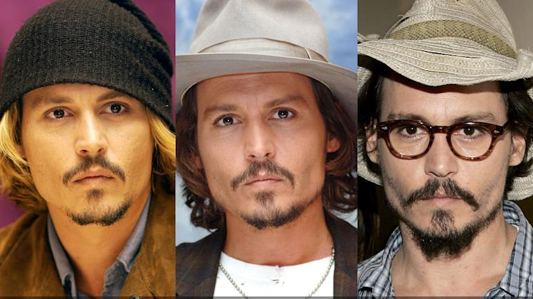 Johnny Depp Wears Hats title card2011