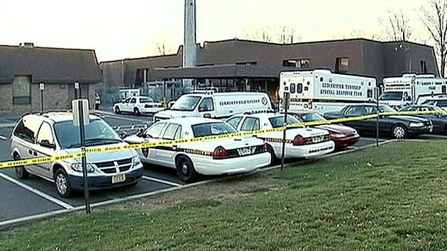 Prisons Worker Shoots Cops in Station (ABC News)