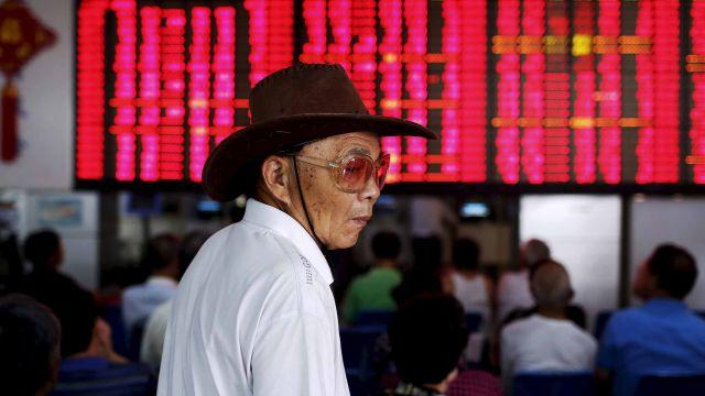 As China's stock market tanked, new retail investors kept climbing aboard, government data shows