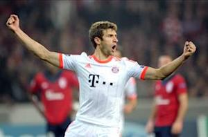 Muller signs Bayern Munich extension until 2017