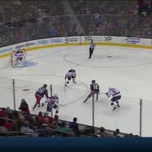 Cory Schneider Save on Ryan Johansen (00:27/2nd)