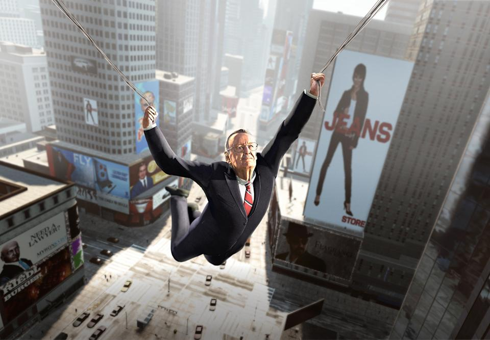"Comic book legend Stan Lee gets animated for the ""Amazing Spider-Man"" video game"