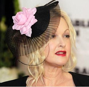 cyndi lauper at the kentucky derby