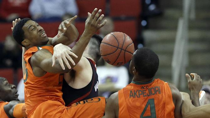Miami pulls away for 85-70 win over NC State