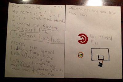 8-year-old Hawks fan devises the perfect plan to stop LeBron James