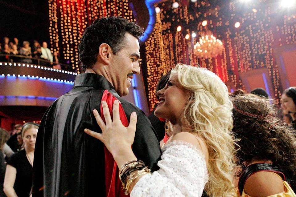 Adam Carolla and his professional partner, Jullianne Hough, are the fouth couple to be eliminated from the 6th season of Dancing with the Stars.