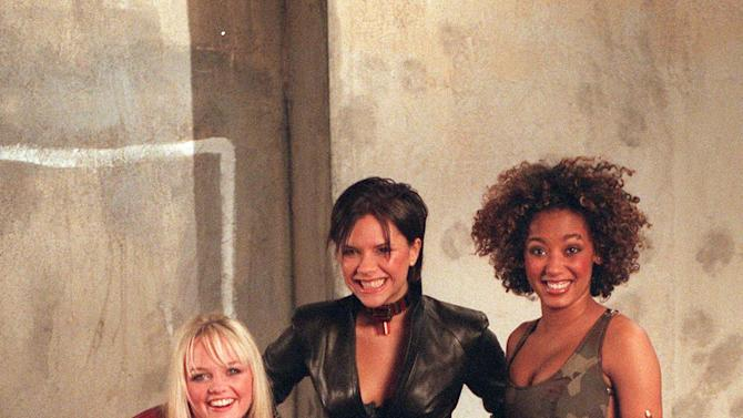 The Spice Girls Films Euro 96 Video