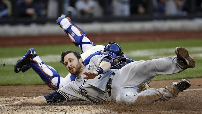 Catcher Lucroy emerging as leader on Brewers
