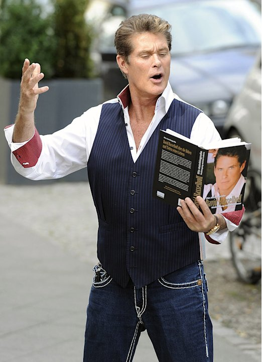 Hasselhoff David Hoffs Back
