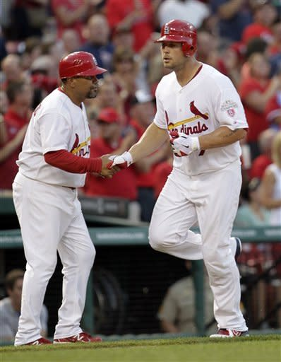 Cardinals end Dempster's run, beat Cubs 4-1