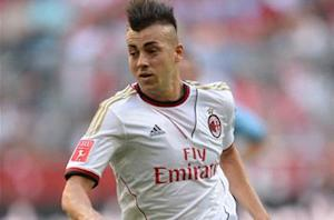 El Shaarawy thrilled to end AC Milan goal drought