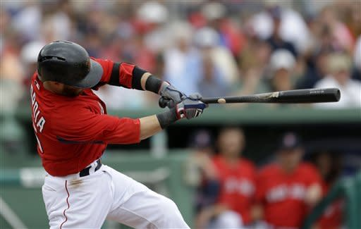 Mike Napoli helps Red Sox beat Blue Jays 5-3
