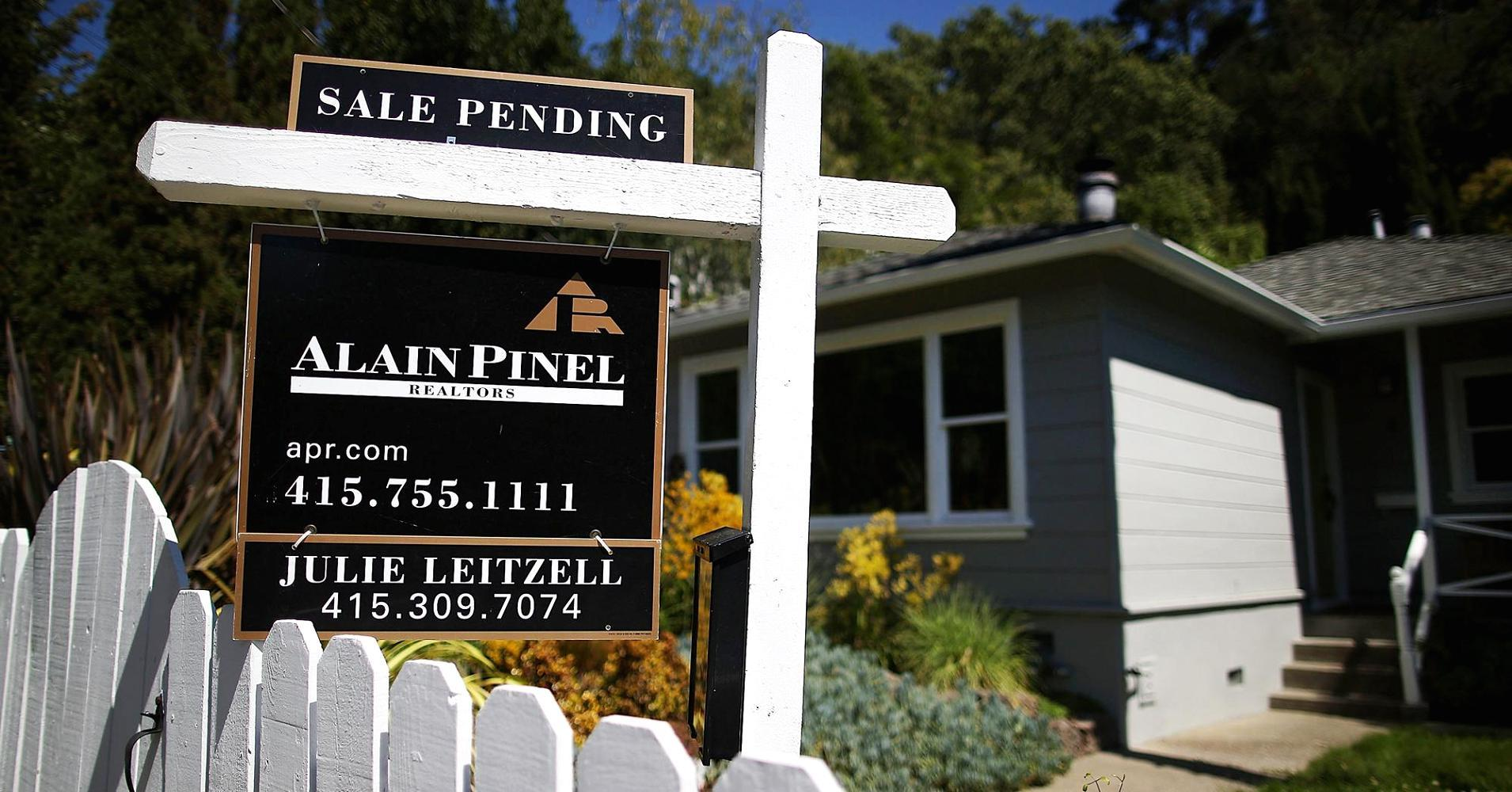 Pending home sales rose just 0.5% in July