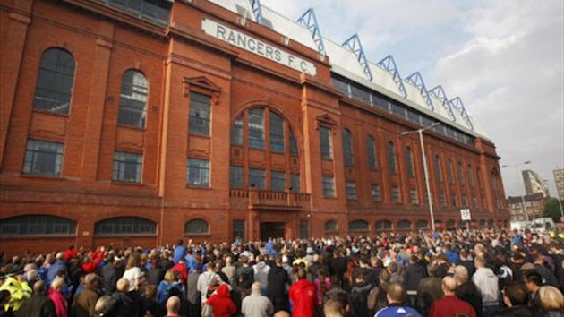 Rangers say the funds raised will go into developing the club as they look to bounce back