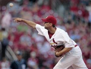 Wainwright's complete game is 4-0 Cardinals win