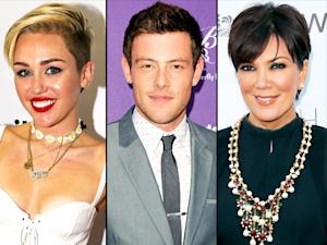 "Miley Cyrus Is ""Obsessed"" With Being Alone, Celebrities React to Glee's Cory Monteith Tribute: Top Stories"