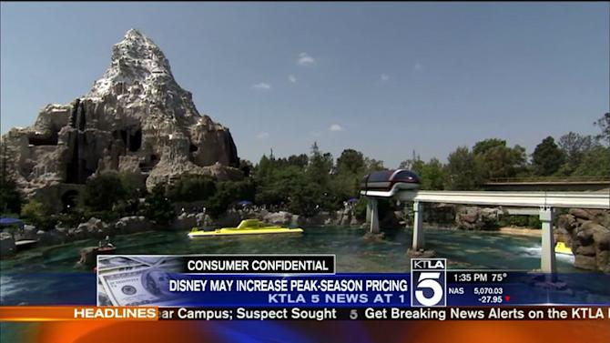 Online Survey Suggests Disneyland May Be Considering Demand Pricing