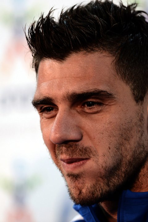 Greece's Midfielder Konstantinos Katsouranis Attends AFP/Getty Images