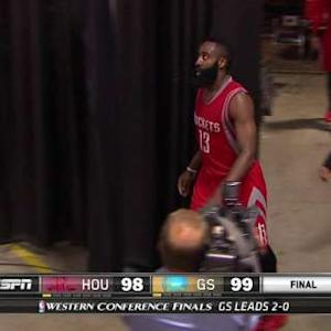 Harden Shows Frustration