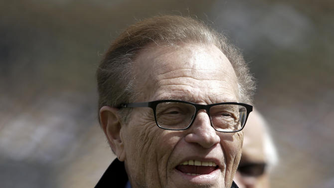 Larry King to host a new political talk TV show