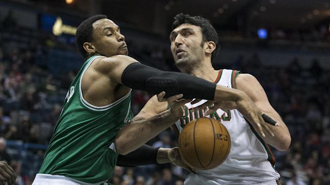Green leads Celtics past Bucks 102-86