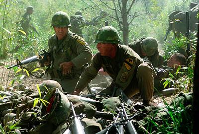 Mel Gibson and Sam Elliott in Paramount's We Were Soldiers