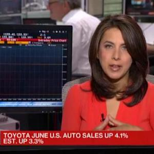 Toyota Tops Monthly Sales Mark With 4.4% Increase
