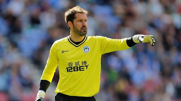 Scott Carson suffered an ankle injury at Charlton