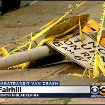 Multiple People Injured After Car Collides With SEPTA Paratransit Bus