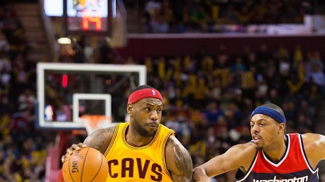 LeBron, Cavs wallop Wizards 113-87