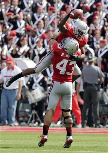 Late TD, pick lift No. 12 Ohio State, 35-28