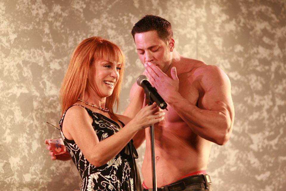Kathy Griffin, Award Presenter at the 2007 GAYVN Awards in San Francisco on Kathy Griffin: My Life On The D-List.