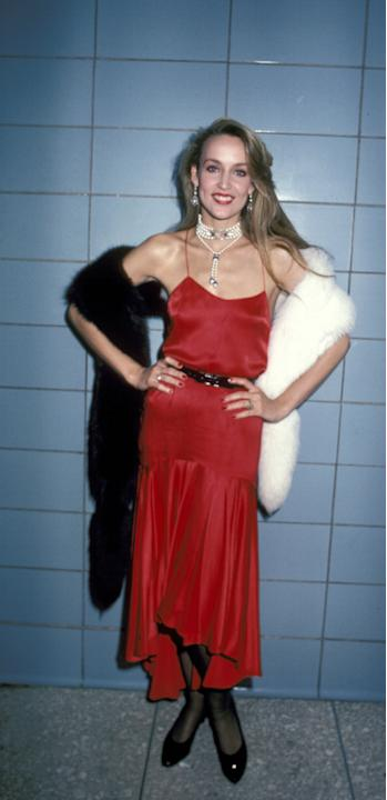 THEN: Jerry Hall