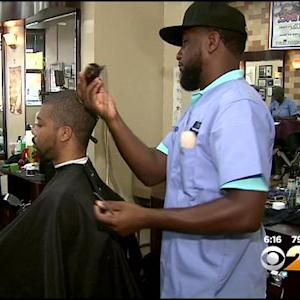 Harlem Barbershop Hosts Cutting for a Cure Event
