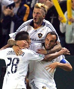 Beckham brings star power to MLS showcase