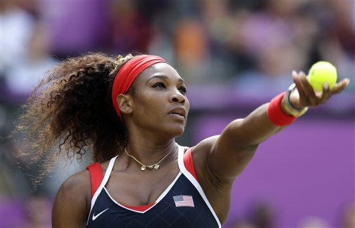 Serena Williams beats Sharapova for Olympic gold