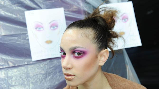 Kithe Brewster Collection - Backstage - Fall 2013 Mercedes-Benz Fashion Week