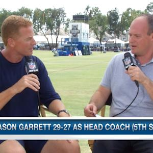 Jason Garrett one-on-one with Rich Eisen