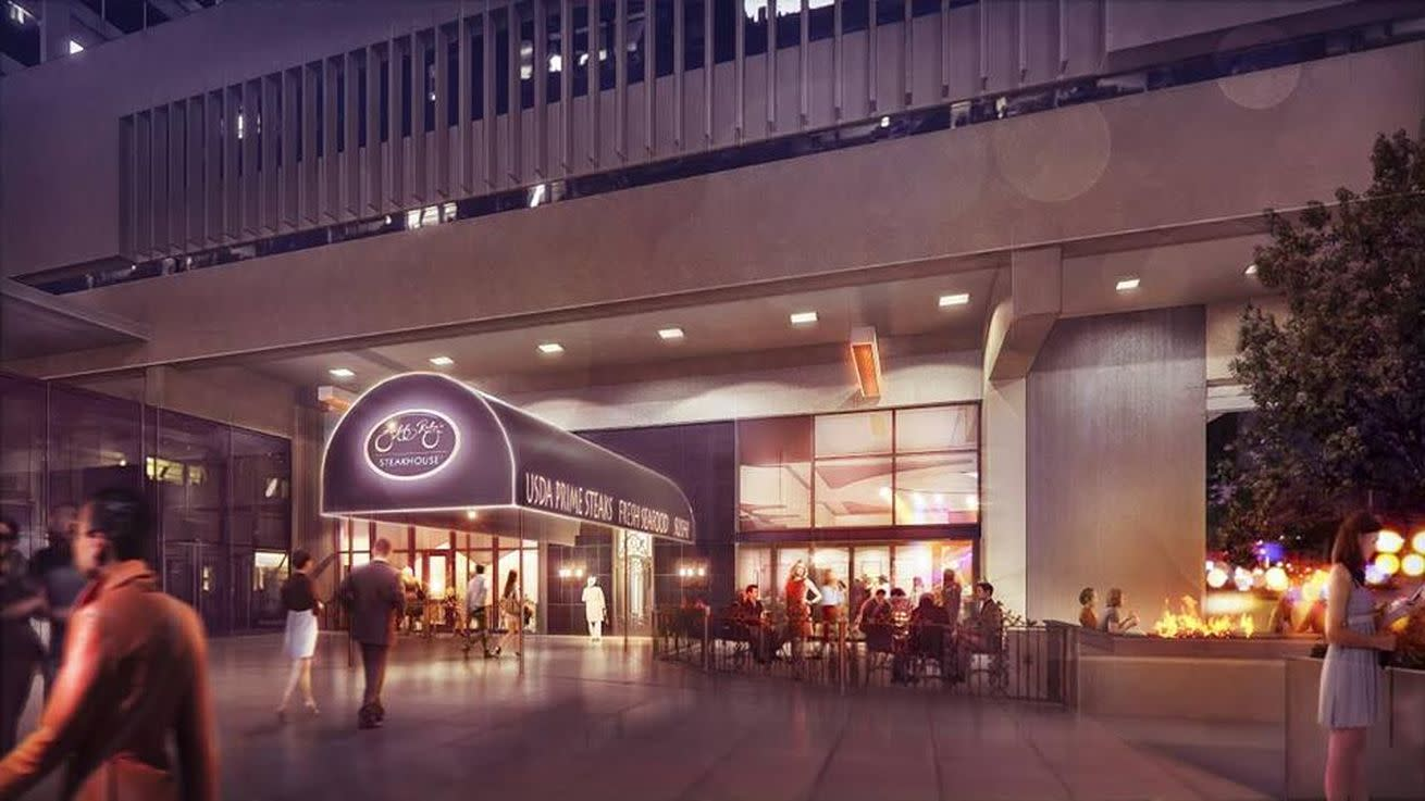 Here's What the Exterior of Jeff Ruby's Steakhouse Will Look Like