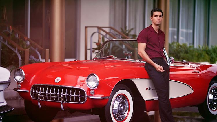 "Steven Strait stars as Stevie Evans in ""Magic City."""