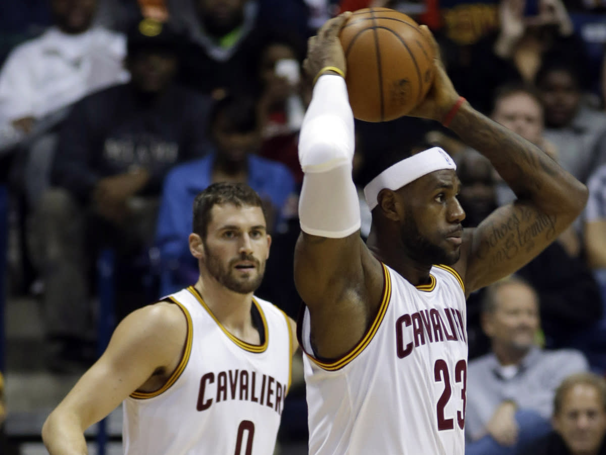 Here's the simple explanation for Instagram photo at the center of the LeBron James-Kevin Love awkwardness