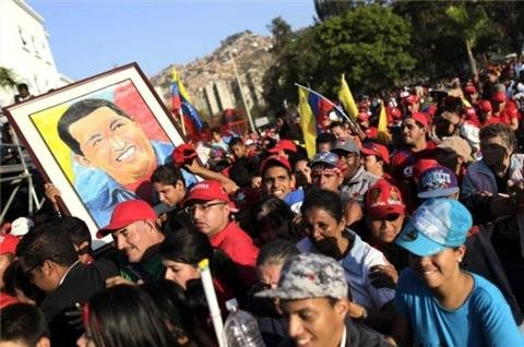 Grief and anxiety greet new Venezuela leader